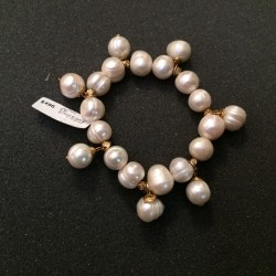 Pulsera de perla natural